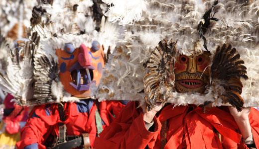 masked mummers