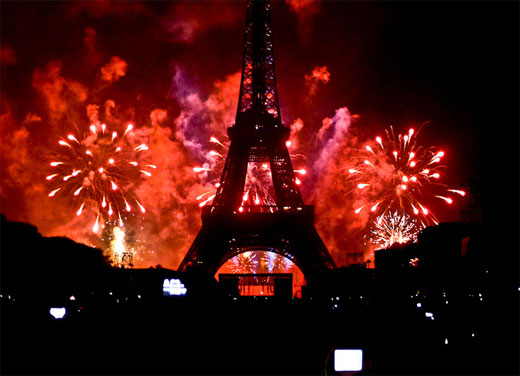 Bastille Day, Fireworks