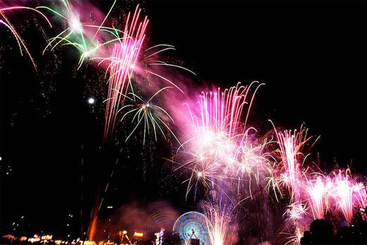 the Moomba Fireworks 2009