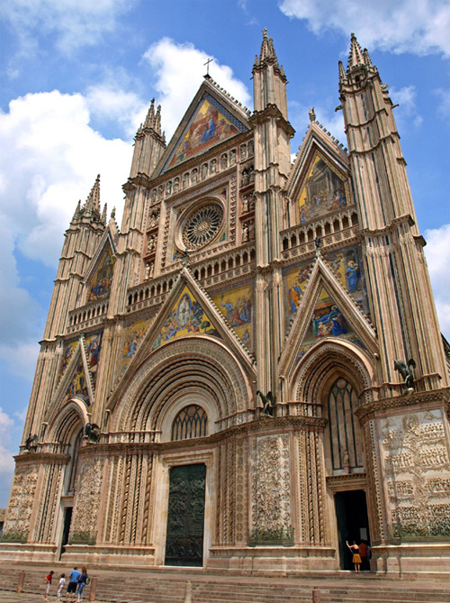 Italy - Cathedral of Orvieto