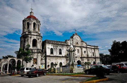 Cebu Metropolitan Cathedral facade