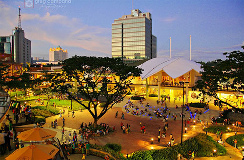 A glimpse to Ayala Center Cebu