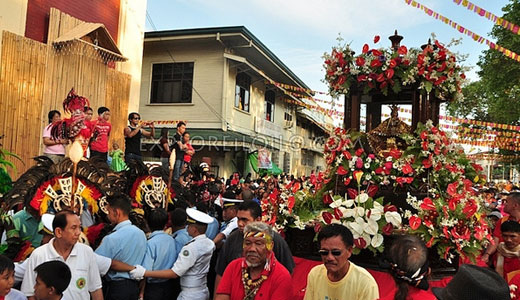 Fluvial and Foot Procession
