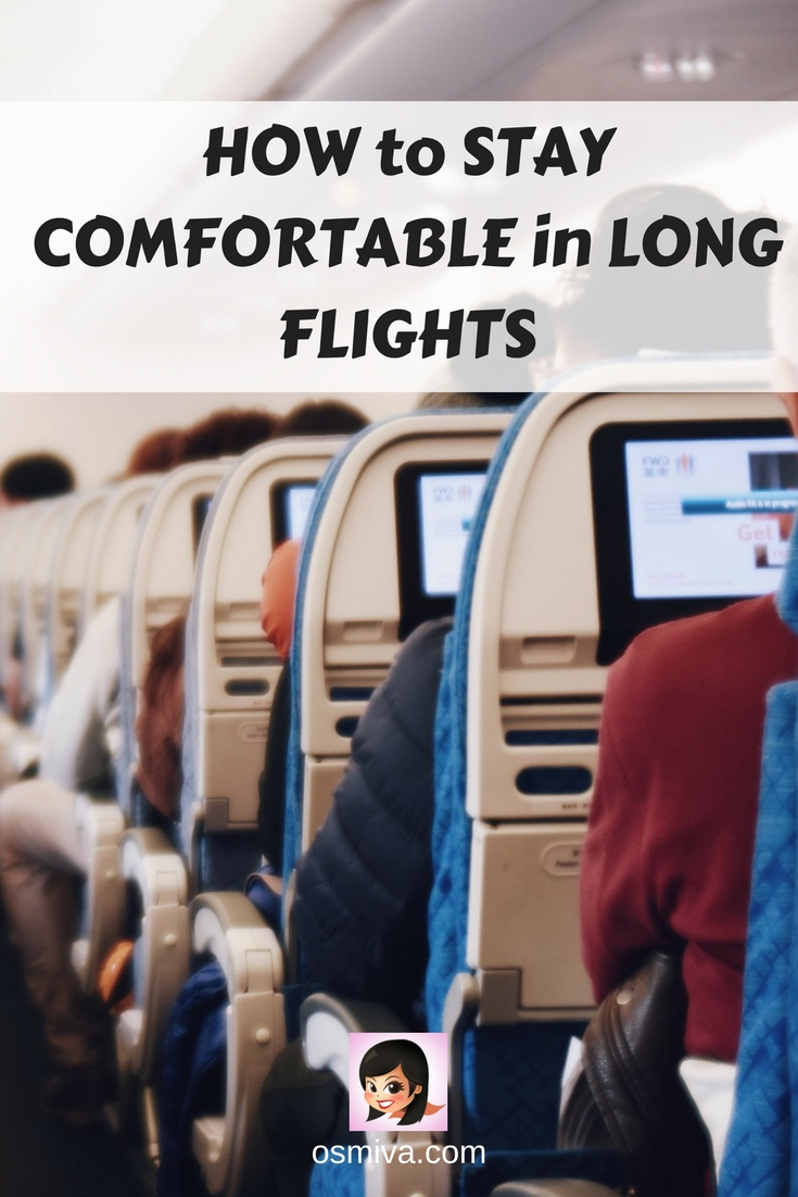 Travel Tips for Long Haul Flights. Survival guide on long flights. Things to do on Long Flights. Tips to make long haul flights bearable #longhaulflighttips #longhaulflightssurvivalguide #survivalguide #traveltips #longhaulflights #osmiva