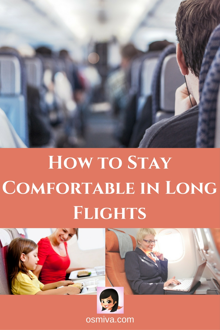 how to make a long flight comfortable