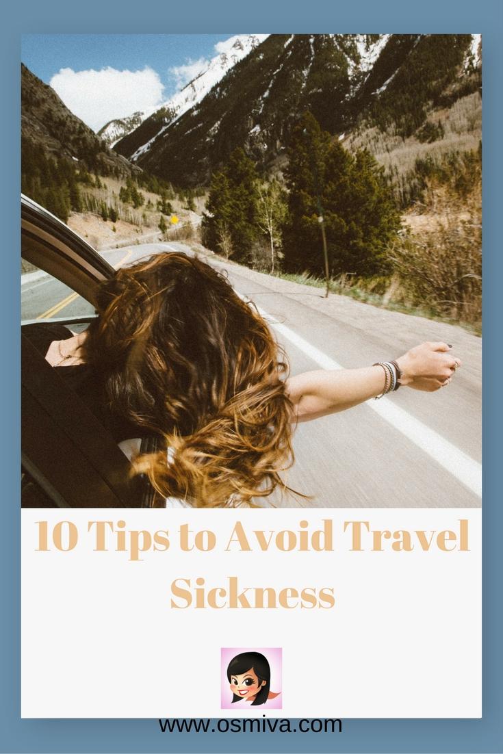 Avoid Travel Sickness