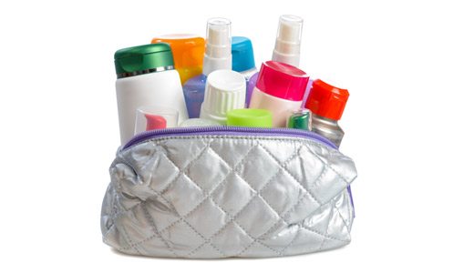 Use organizer pouches