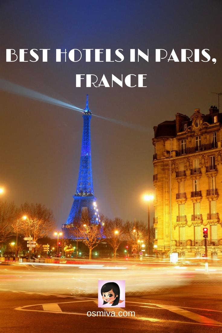 Best Hotels In Paris France Osmiva