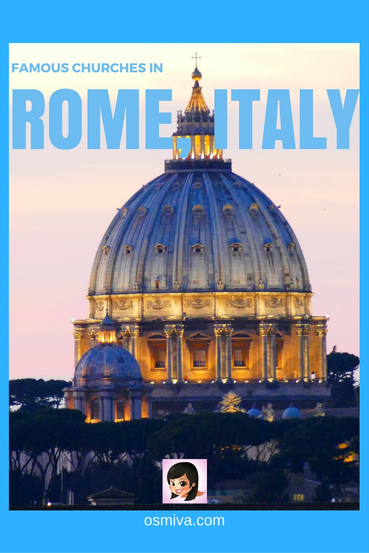 Famous Churches in Rome, Italy #rome #romechurch