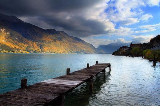Annecy Lake, Autumn