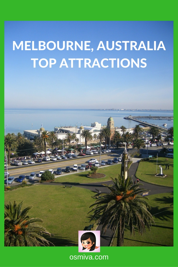 Melbourne, Australia Top Attractions. Guide on the best attractions to visit when in Australia! List of Places to visit in Melbourne that you can include in your itinerary #travel #travelaustralia #australiaattractions #melbourneaustralia #melbourneattractions #placestovisitinmelbourne #osmiva #travelguide