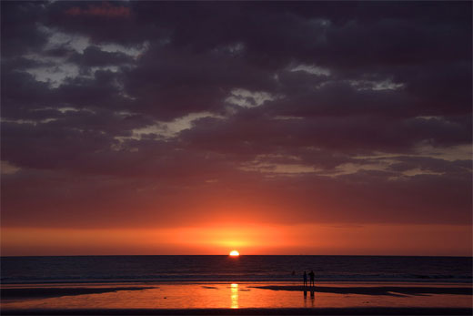 Sunset at Jaco Beach