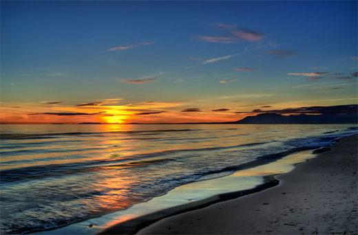 Sunset - Nikki Beach Spain HDR