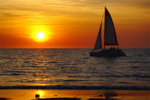 Mindil Beach sunset sail 2