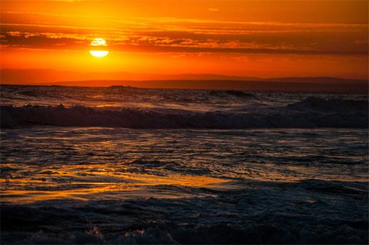 13th Beach Sunset 3