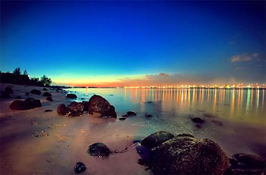 Punggol Beach Sunset