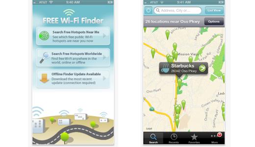 Free Wi-Fi Finder