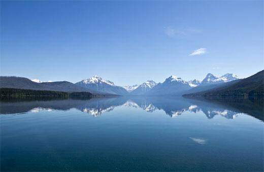 Glacier Mountain Landscape