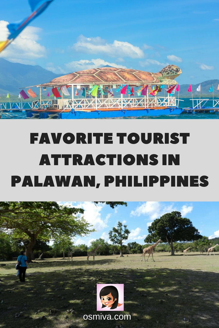 Favorite Tourist Attractions in Palawan, Philippines. Your guide to the best places to visit and explore when in the Philippines island paradise. This is a summary of places to visit that you should include in your itinerary when visiting the island. #palawanattractions #palawan #palawanphilippines #palawanattractions #explorephilippines #travelphilippines