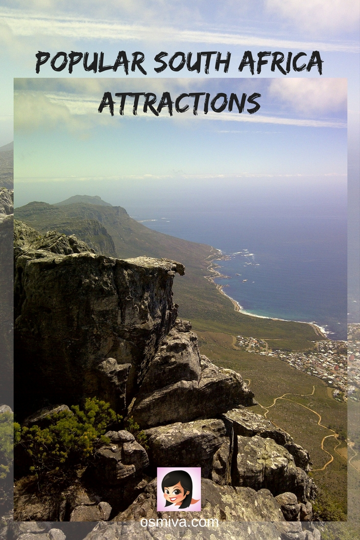 Popular South Africa Attractions. Attractions in South Africa that are a must when travelling to South Africa #southafrica #southafricaattractions #attractionsinsouthafrica #osmiva