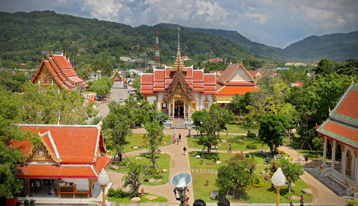 Wat Chalong and Phuket Temples