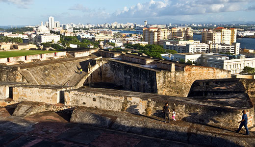 Modern Fort San Cristobal