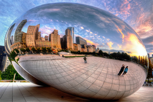 Chicago, shooting through the bean