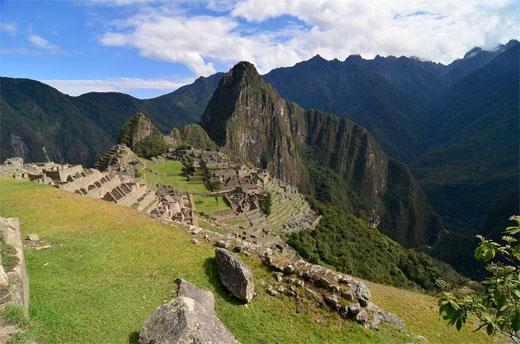 Machu Picchu - The village