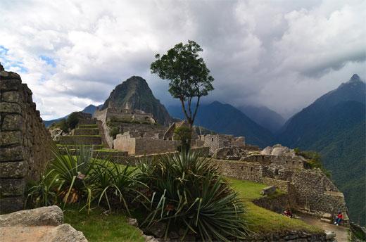 Machu Picchu - Cloudy sky 3