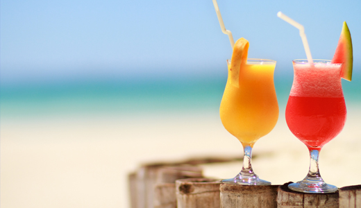 Stay hydrated beach vacation tips