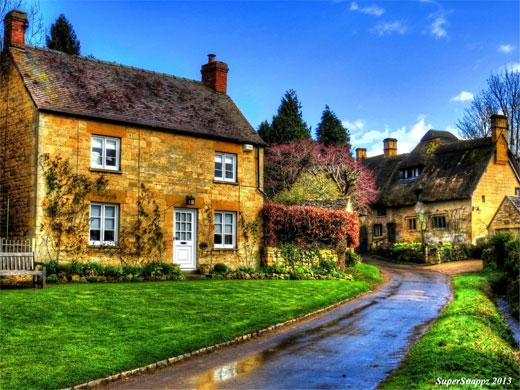 Stanton Village Gloucestershire