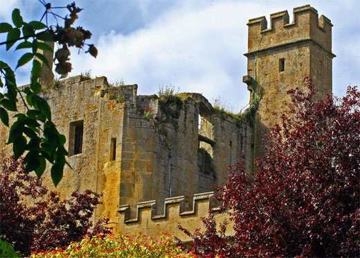 Old Castle in Cotswolds