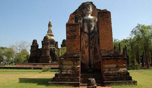 The Main Chedi of Wat Maha That, Sukhothai