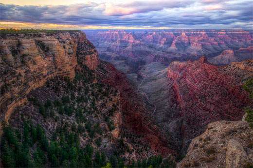 Grand Canyon, dichotomized