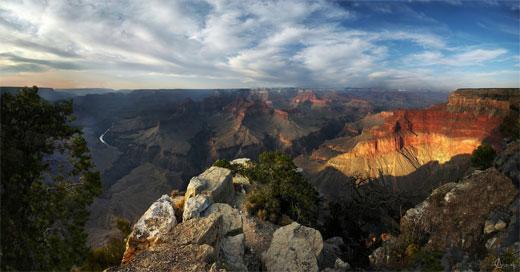 Rocky Days - Canyon Sunset