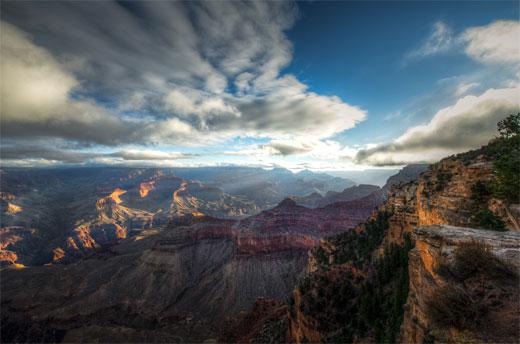 Grand Canyon, the depth