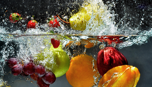 Avoiding Sickness Food: Always wash fruits and vegies