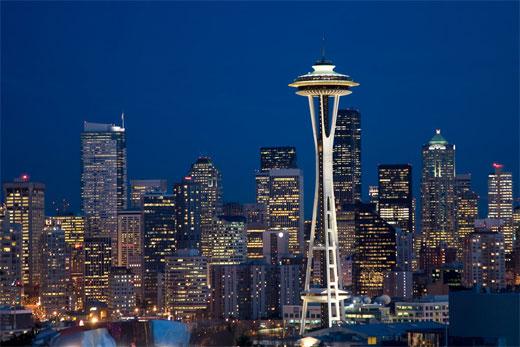 Seattle City Lights 1