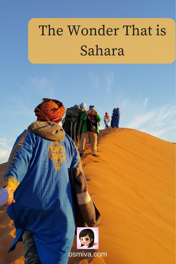 The Wonder That is Sahara #saharadesert #saharadesertguide #osmiva