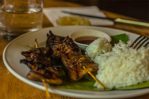 Restaurant Food in Plantation Bay Resort and Spa Cebu