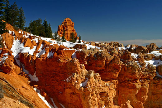C4D Winter in Bryce Canyon