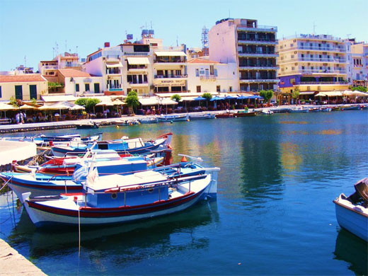 agios niklaos waterfront