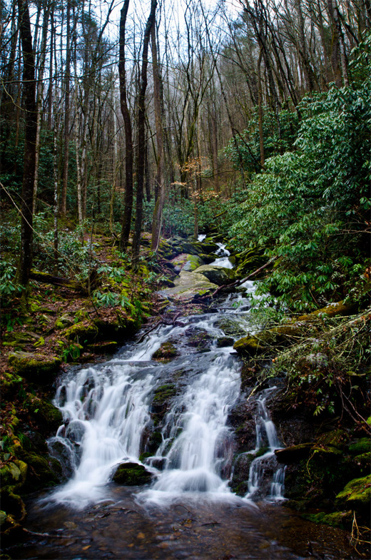smoky mountain falls