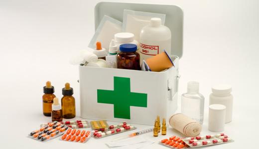 Bring first aid kits