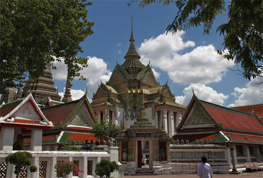 Phra Mondob at Wat Pho