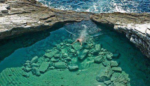 Natural Pool Water