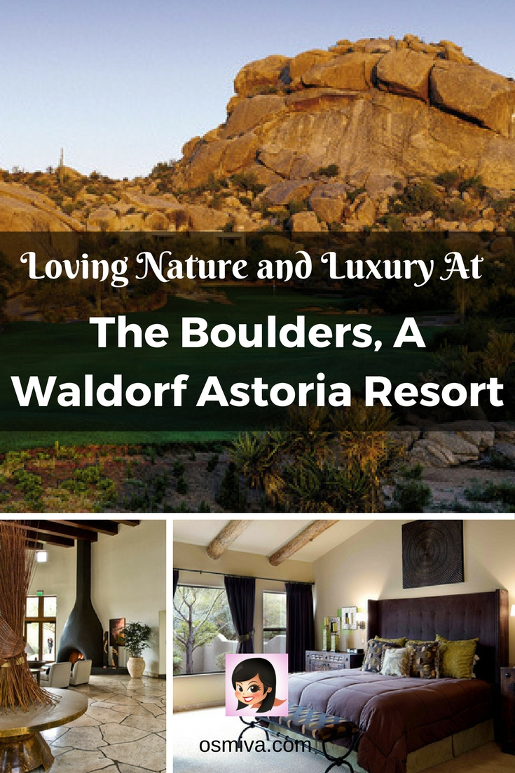 Resort Review. Travel Accommodation. Luxury Resort. The Boulders, A Waldorf Astoria Resort. The Boulders Review. Loving Nature and Luxury At The Boulders, A Waldorf Astoria Resort #theboulders #resort #resortreview #travelinspiration #osmiva