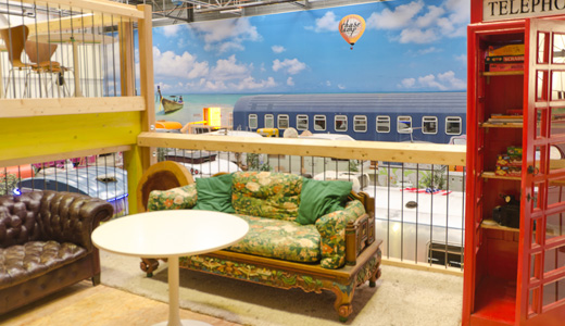 BaseCamp Bonn Lounge