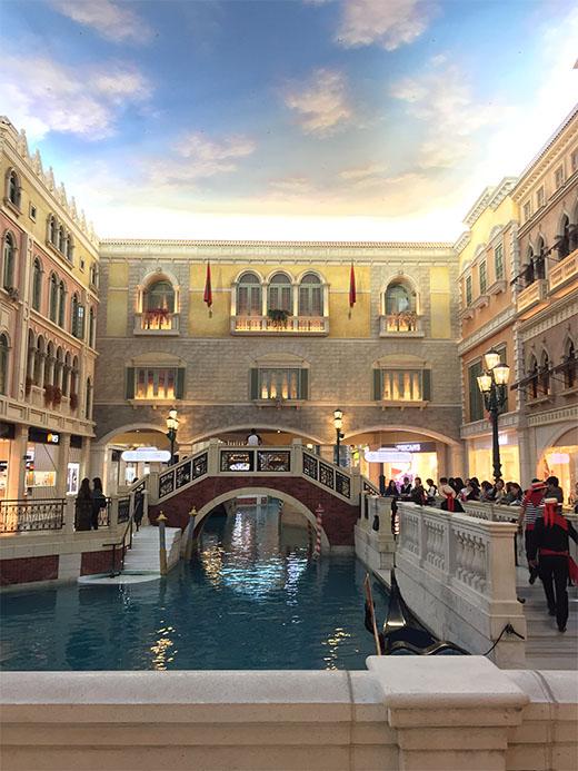 Gondola Ride The Venetian