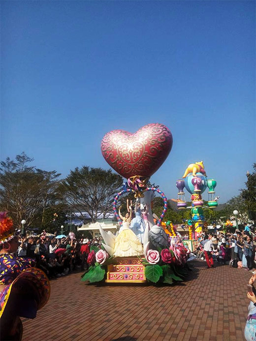 Hong Kong Disneyland Grand Parade